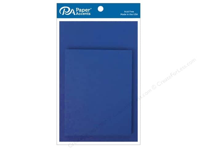 Paper Accents Blank Card & Envelopes - 4 1/4 x 5 1/2 in. - Royal Blue 10 pc.
