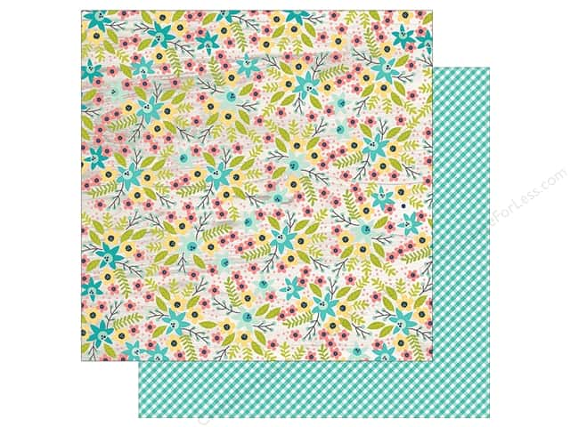 """Simple Stories Collection Domestic Bliss Paper 12""""x 12"""" Work It Girl (25 pieces)"""