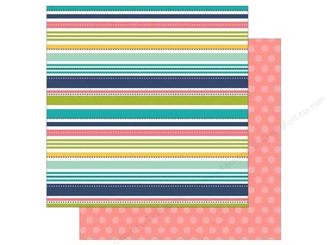"Simple Stories Collection Domestic Bliss Paper 12""x 12"" Mom Rules (25 pieces)"
