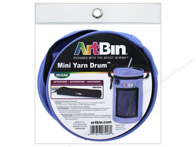ArtBin Yarn Drum Mini Periwinkle