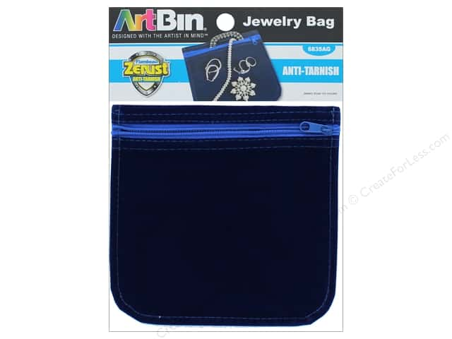 "ArtBin Anti-Tarnish Jewelry Bag 6""x 6"""