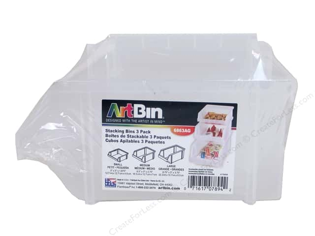 ArtBin Stacking Bins 3pc