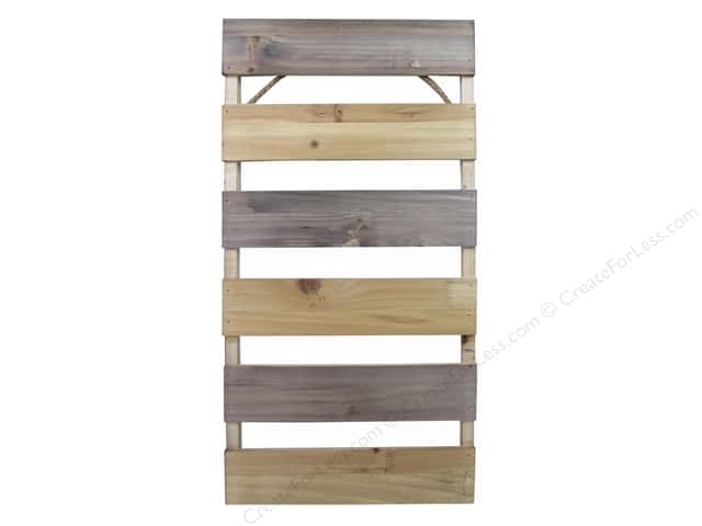 Sierra Pacific Crafts Wood Pallet Mini 19.5 in. x 23.5 in. x 1 in. Stained