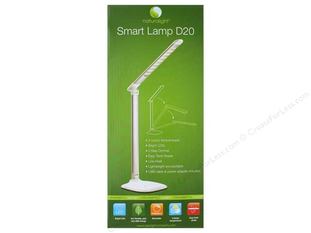 Daylight Lamp Table Smart Lamp D20 Metallic Silver