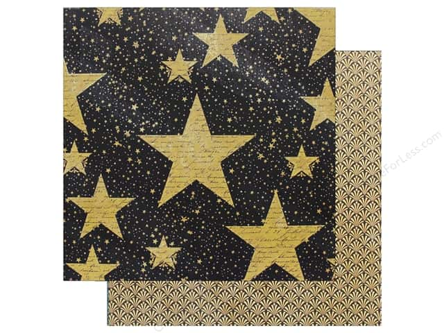 "Graphic 45 Collection Vintage Hollywood Paper 12""x 12"" Star Studded (25 pieces)"