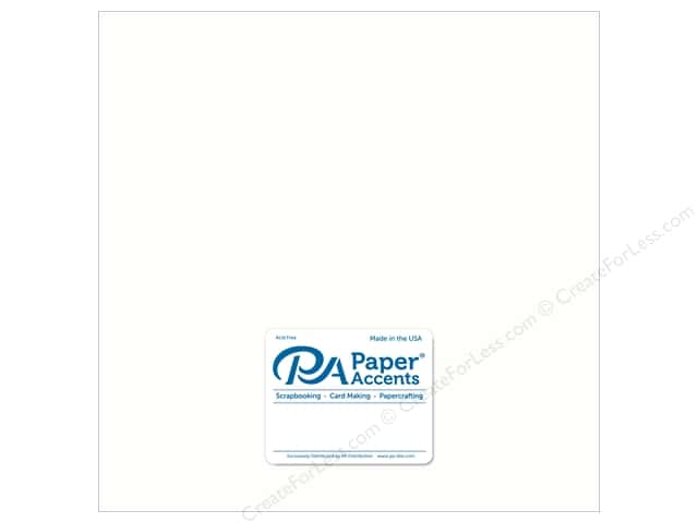 Paper Accents Cardstock 12 x 12 in. Ultra Matte Casper (25 sheets)