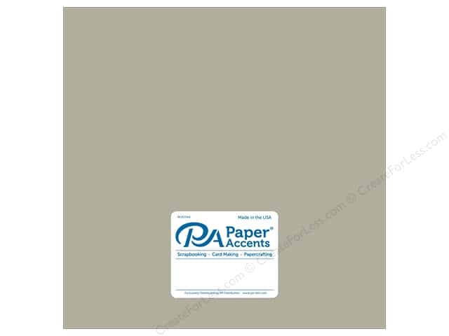 Paper Accents Cardstock 12 x 12 in. #8853 Ultra Matte Taupe (25 sheets)