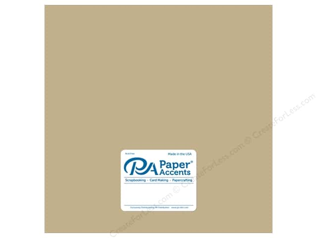 Paper Accents Cardstock 12 x 12 in. Ultra Matte Fawn (25 sheets)