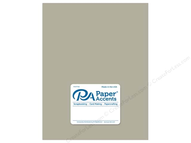 Paper Accents Cardstock 8 1/2 x 11 in. Ultra Matte Taupe (25 sheets)
