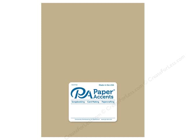 Paper Accents Cardstock 8 1/2 x 11 in. Ultra Matte Fawn (25 sheets)