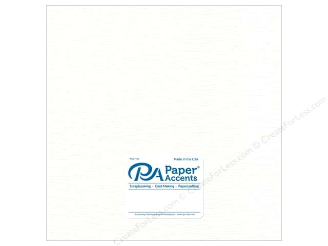 Paper Accent Onion Skin Paper 12 x 12 in. White (25 sheets)