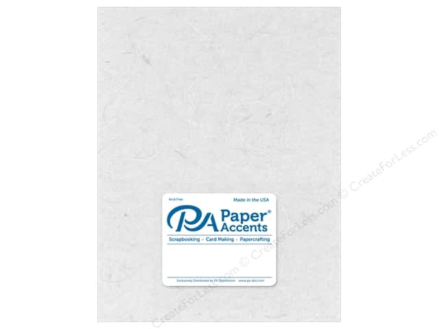 Paper Accent Mulberry Paper 8 1/2 x 11 in. White (25 sheets)