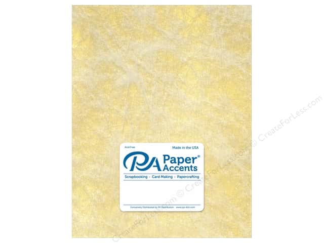 Paper Accent Cardstock 8 1/2 x 11 in. #8850 Spun Silk Gold 5 pc.