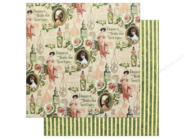"Graphic 45 Collection Portrait Of A Lady Paper 12""x 12"" Catharine (25 pieces)"