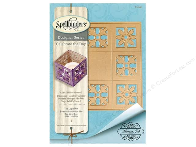 Spellbinders Die Shapeabilites Marisa Job Tea Light Box