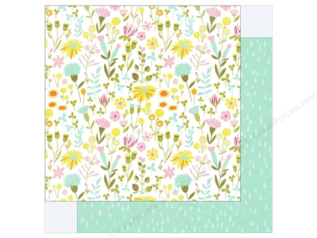 "Photo Play Collection Bloom Paper 12""x 12"" Flower Garden (25 pieces)"
