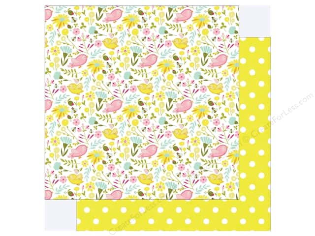 "Photo Play Collection Bloom Paper 12""x 12"" Birds & Bees (25 pieces)"