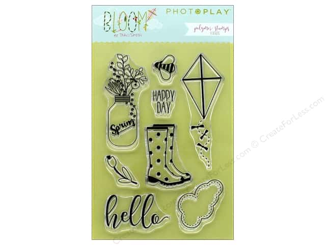 Photo Play Collection Bloom Polymer Stamp