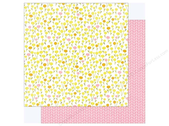 "Photo Play Collection Bloom Paper 12""x 12"" (25 pieces)"