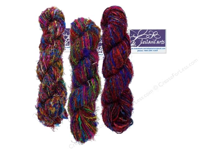 Leilani Arts Silk Yarn Multi 80yd