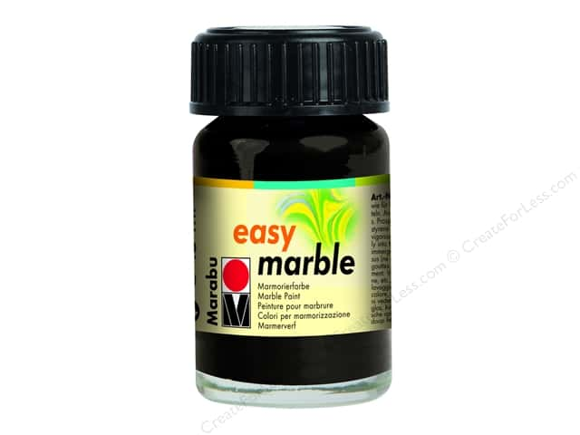Marabu Easy Marble Paint 0.5 oz. Black