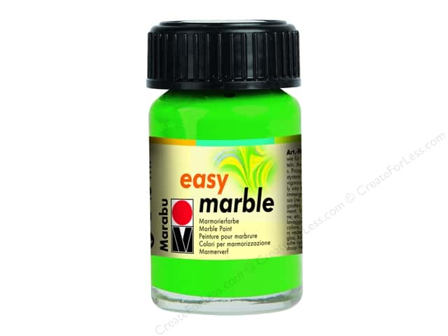 Marabu Easy Marble Paint 0.5 oz. Light Green