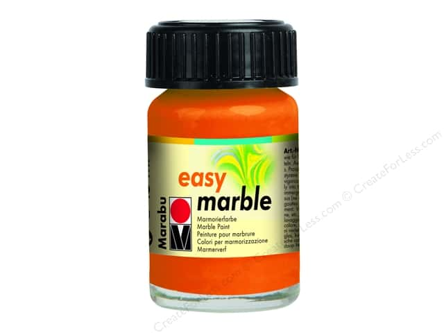 Marabu Easy Marble Paint 0.5 oz. Orange