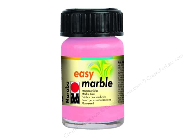 Marabu Easy Marble Paint 0.5 oz. Rose Pink