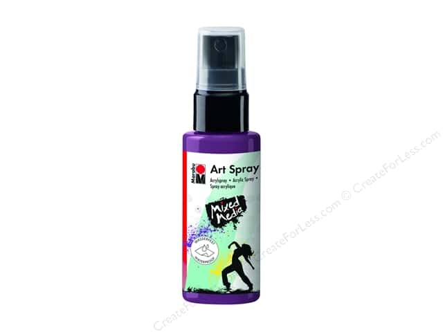 Marabu Mixed Media Art Spray 1.7 oz. Aubergine