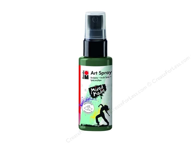 Marabu Mixed Media Art Spray 1.7 oz. Khaki