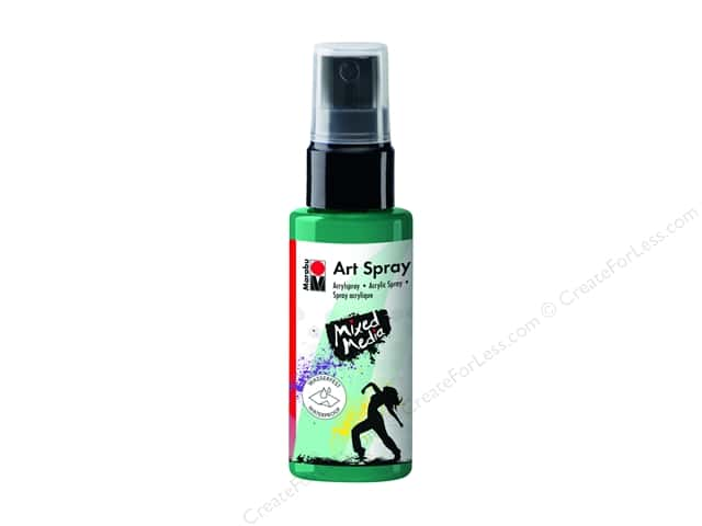 Marabu Mixed Media Art Spray 1.7 oz. Mint