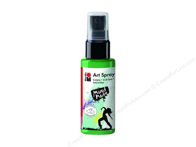 Marabu Mixed Media Art Spray 1.7 oz. Apple