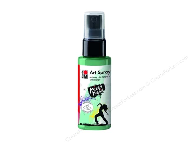 Marabu Mixed Media Art Spray 1.7 oz. Aquamarine