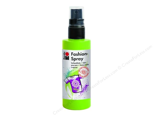 Marabu Fashion Fabric Spray Paint 3.4 oz. Reseda