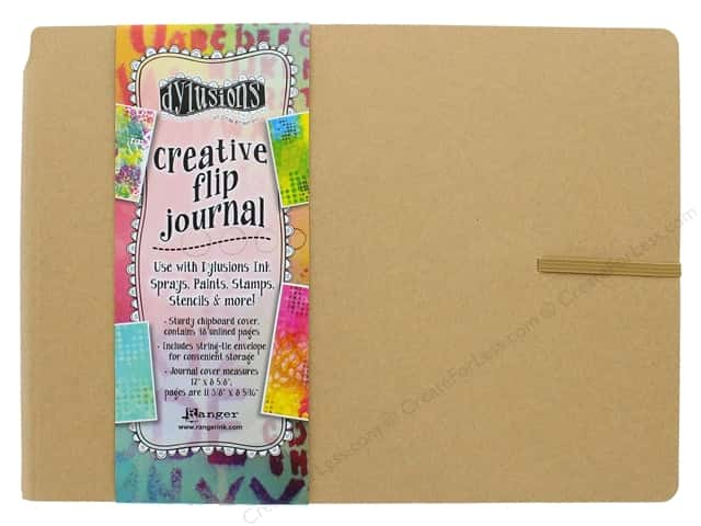 Ranger Dylusions Creative Flip Journal - Large