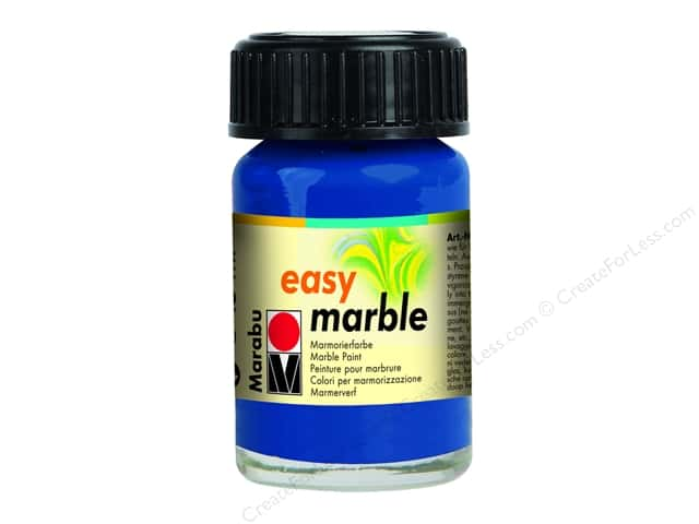 Marabu Easy Marble Paint 0.5 oz. Dark Ultramarine