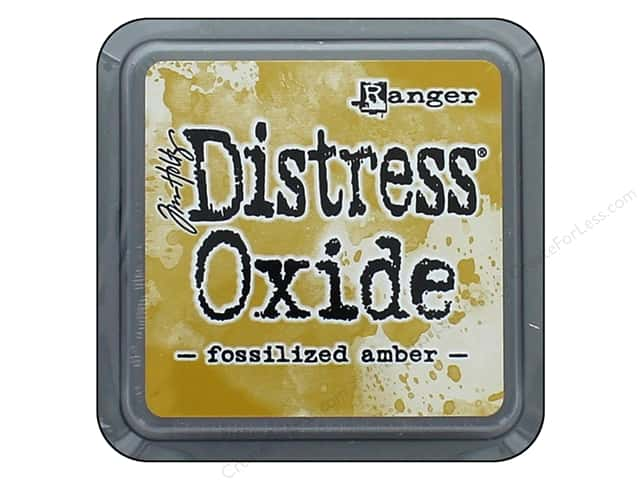Ranger Tim Holtz Distress Ink Pad Oxide Fossilized Amber