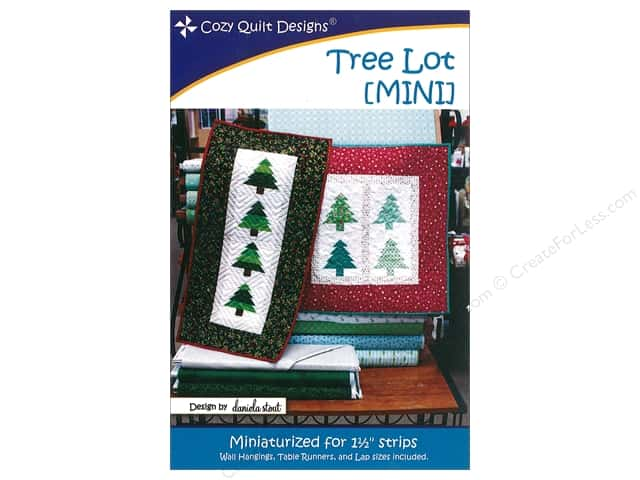 Cozy Quilt Designs Tree Lot Mini Pattern