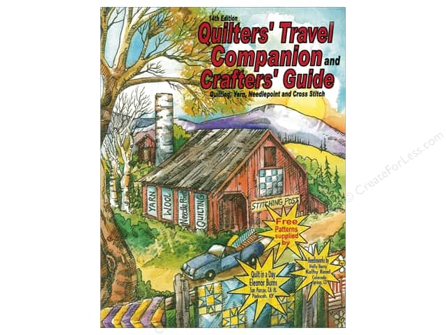 Quilters Travel Companion 14th Edition 2016-2018
