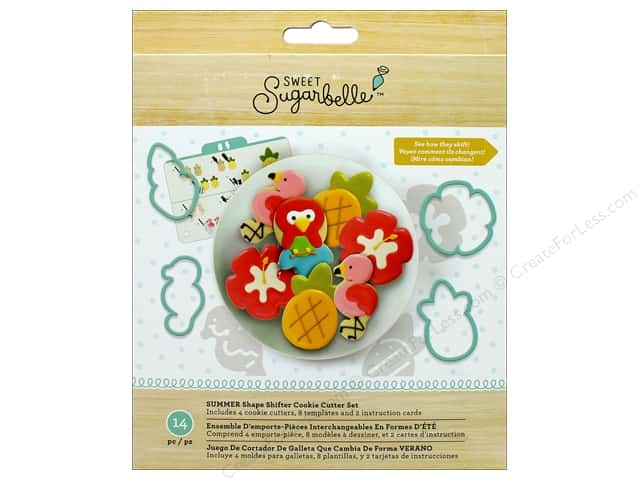 American Crafts Sweet Sugarbelle Shape Shifter Cookie Cutter Set Summer