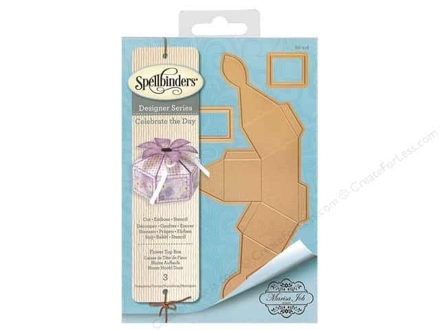 Spellbinders Die Shapeabilites Flower Top Box