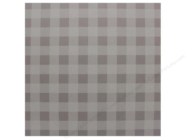 "Bazzill Cardstock 12""x 12"" Check Sugar Wafer (25 pieces)"