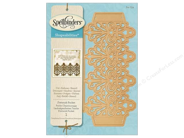 Spellbinders Die Shapeabilites Fretwork Pocket