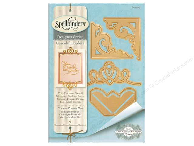 Spellbinders Die Card Creator Graceful Corners One