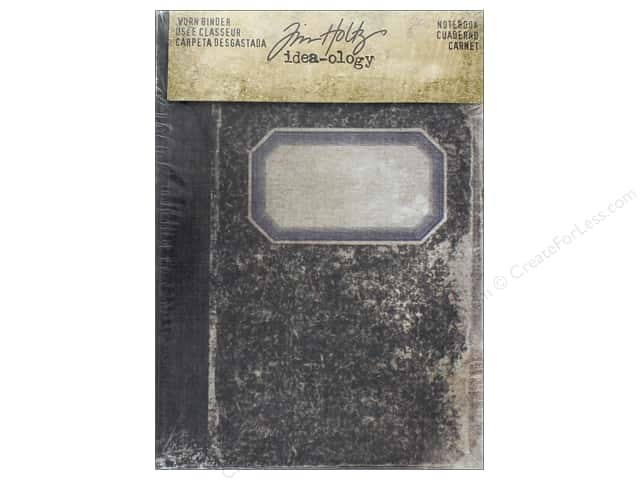 Tim Holtz Idea-ology Worn Binder Notebook