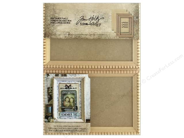 Tim Holtz Idea-ology Mini Framed Panels