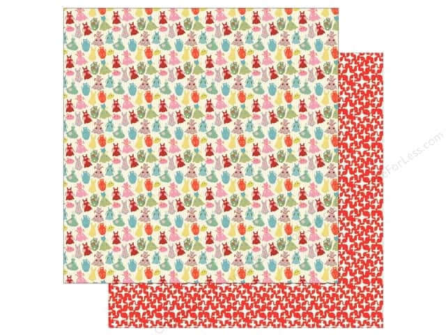 "Authentique Collection Saucy Paper 12""x 12"" Three (25 pieces)"
