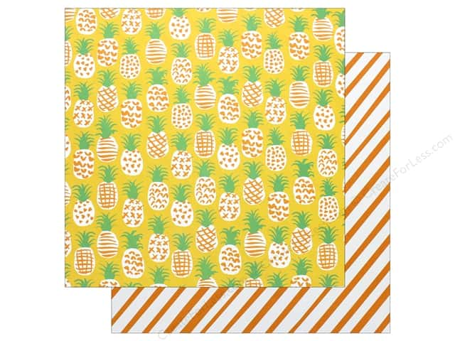 "AMC Collection On A Whim Amy Tangerine Paper 12""x 12"" Fine Apple (25 pieces)"