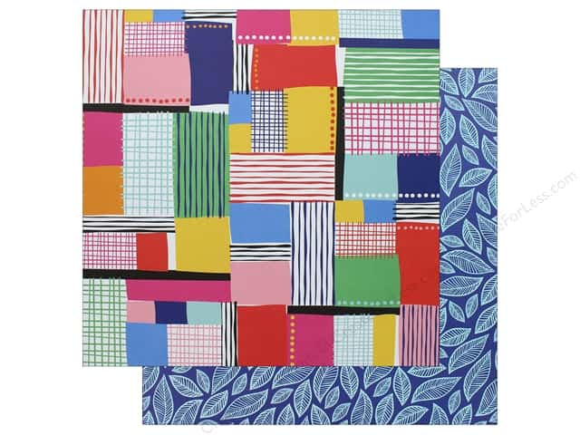"AMC Collection On A Whim Amy Tangerine Paper 12""x 12"" Patchwork"