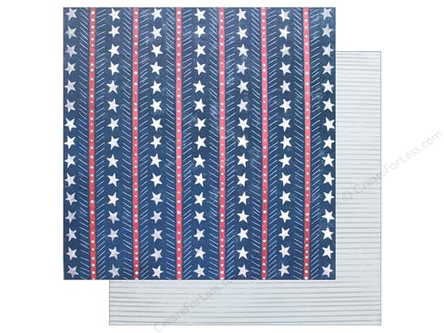 """Pink Paislee Collection Sweet Freedom Paper 12""""x 12"""" #6"""